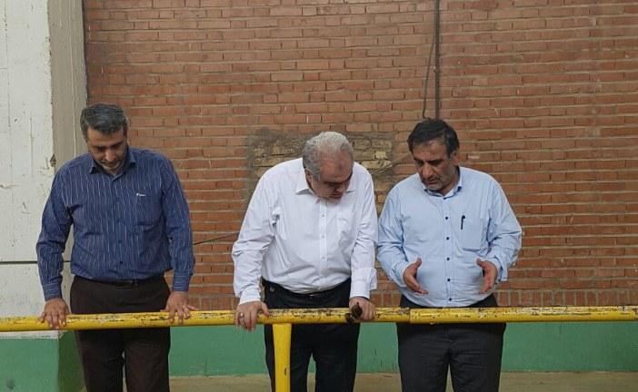 به دنبال قطعی اخیر آب در اهواز: فرماندار اهواز از فعالیت تاسیسات آب خام بازدید نمود