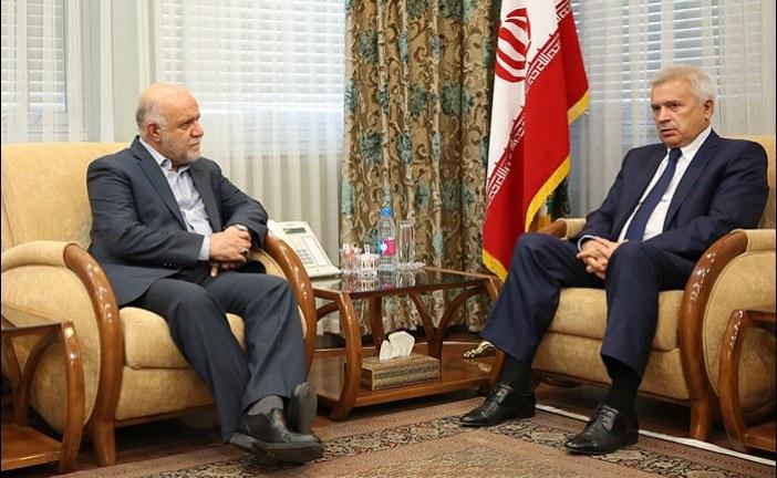 وزیر نفت خواستار ایجاد بنیان همکاری بلندمدت میان شرکت ملی نفت ایران و لوک اویل شد.