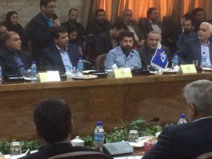 آئین امضای تفاهم نامه همکاری وقراردادهای شرکت ملی مناطق نفت خیز جنوب با کنسرسیوم بین المللی پرگس برگزار شد