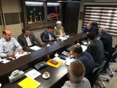 برگزاری جلسه شورای معاونین شرکت آبفا کلانشهر اهواز
