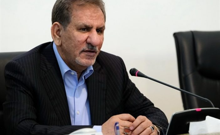 معاون اول رئیس جمهوری: توقف صادرات نفت ایران توسط آمریکا ادعایی بیحساب است