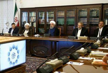 آغاز چهارمین جلسه شورای عالی هماهنگی اقتصادی با حضور سران سه قوه