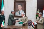 ایران و سوریه سند موافقت نامه همکاری دفاعی امضا کردند