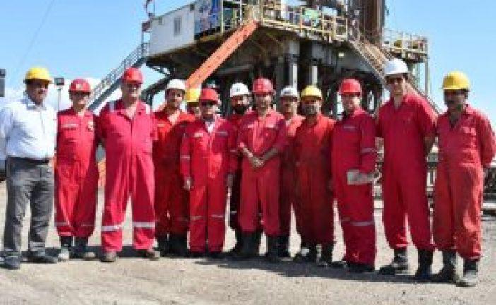 مدیرعامل شرکت ملی حفاری ایران در دیدار نوروزی با کارکنان عملیاتی