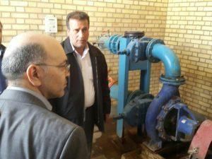 بازدید مدیر عامل شرکت مهندسی آب و فاضلاب کشور از ایستگاه پمپاژ تقویت فشار آب اهواز