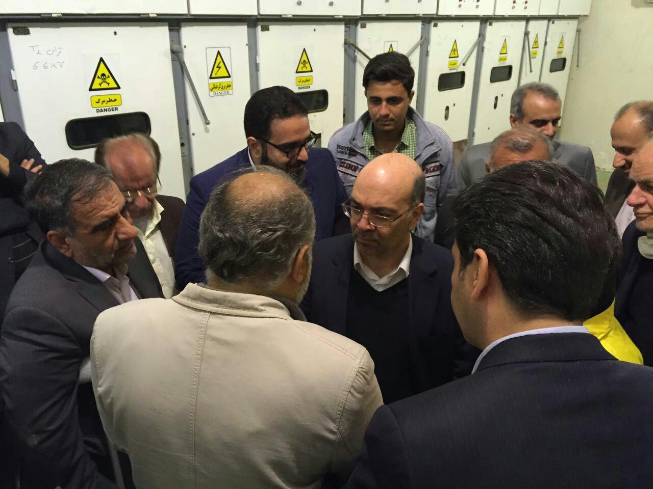 حضور مدیرعامل شرکت مهندسی آبفا کشور در تصفیه خانه های آب اهواز