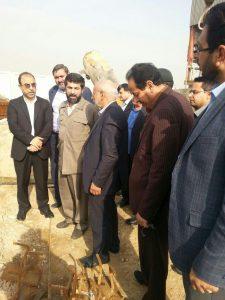 بازدید دکتر غلامرضا شریعتی از پروژه های آب و فاضلاب شهرستان کارون