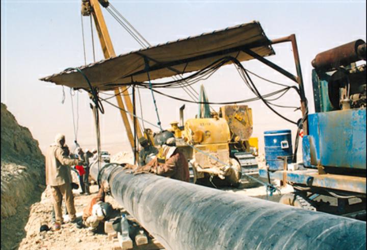 پروژه ایمنسازی خطوط لوله در شرکت نفت و گاز گچساران اجرا شد