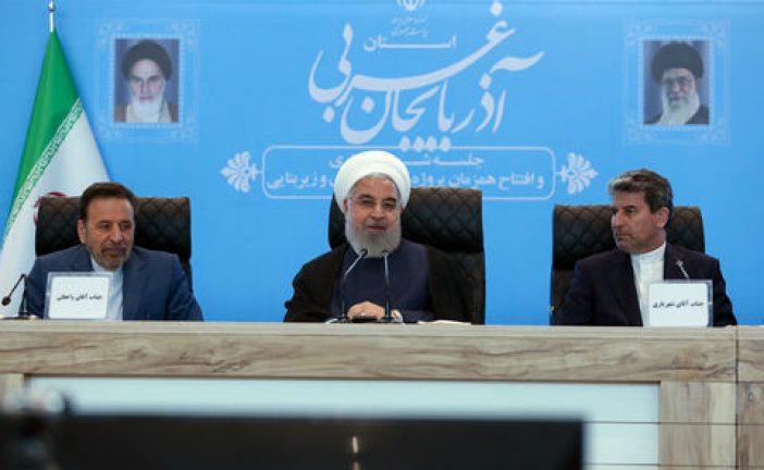 روحانی : در فروش نفت تحریم را دور میزنیم