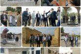 جلسه و بازدید میدانی مدیر کل امورشهری و شوراهای استانداری خوزستان در شهر ویس
