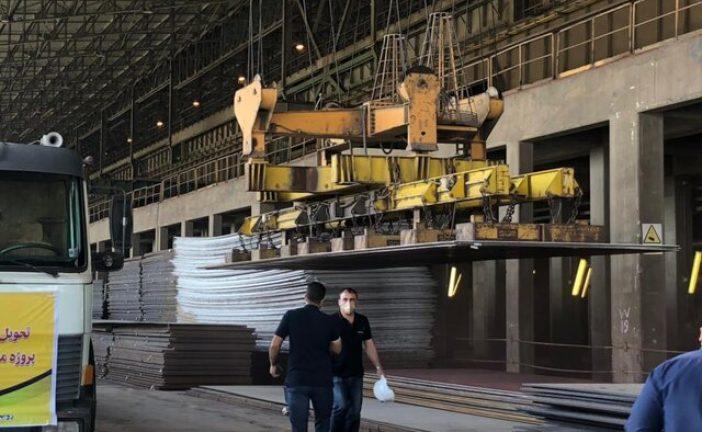 مدیر تولید شرکت فولاد اکسین خوزستان خبر داد:تحویل آخرین سری ورقهای فولادی پروژه ملی انتقال نفت از گوره به جاسک